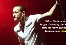 Facts about Chester Bennington