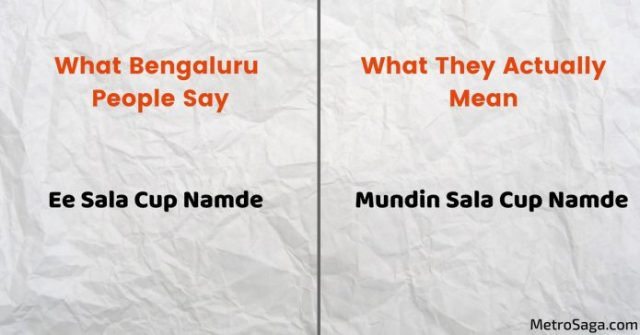 bengaluru people