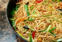 Chilli Garlic Chicken Noodle