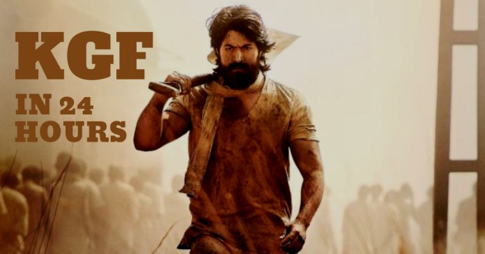 kgf in 24 hours