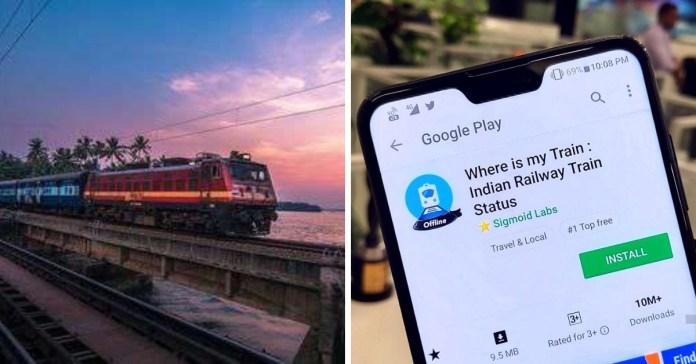 popular train app