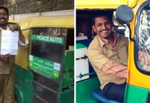 peace auto drivers of bengaluru