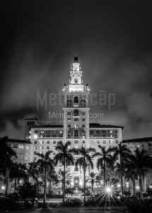 Black & White Print Of Biltmore Hotel In