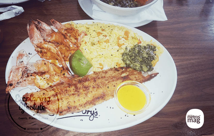 FOOD REVIEW : JOHN DORY'S ON JEAN CROSSING