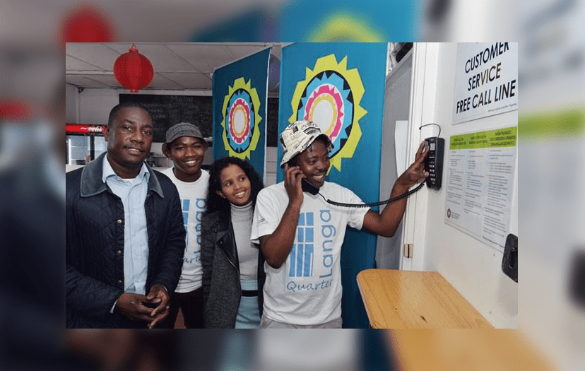FreeCall Line helps Langa residents to connect with the City