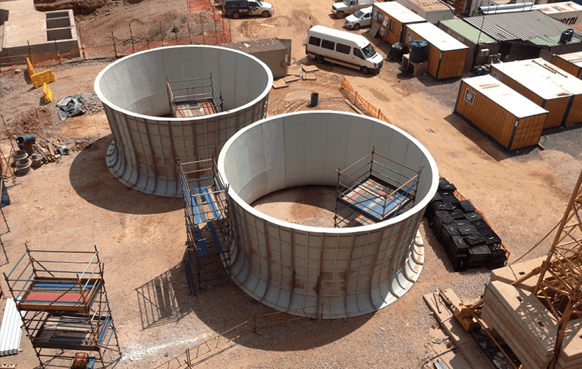 IWC Builds Massive GRP Fans Stacks for Kusile Power Station