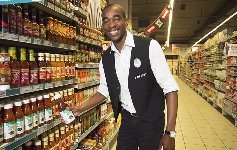 Shoprite's job creation plan empowers the deaf