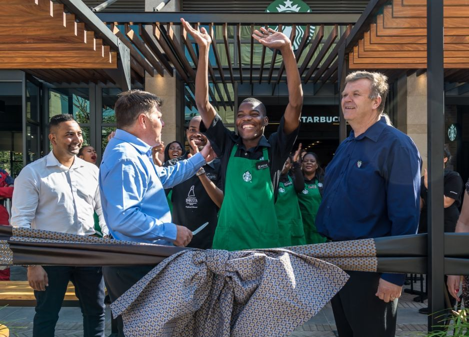 Starbucks opens in Pretoria, South Africa