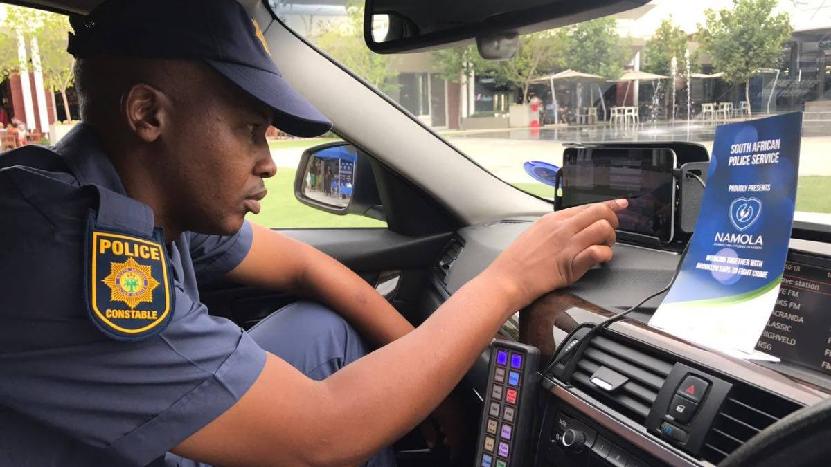 Brooklyn SAPS embrace Namola technology to keep citizens safe