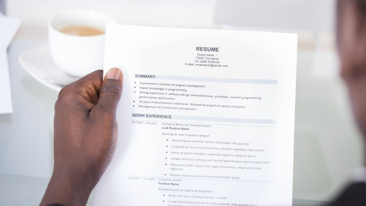 Gone in 8.8 seconds: How to save your CV from the recycle bin