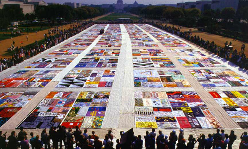 The AIDS Quilt At 30 A Tale of Tears Trials and Tenacity