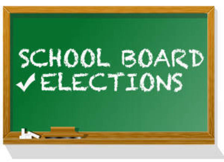 7 on ballot for two seats on school board