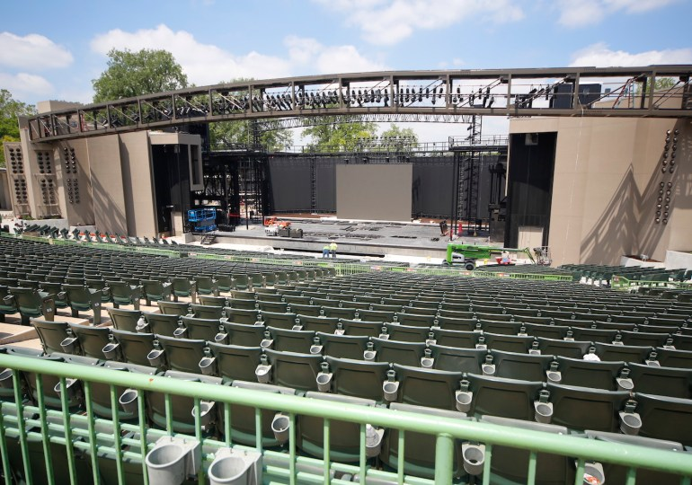 Muny updates its stage to 'make the magic'