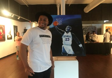 Marquis Terrell honors 'Creative Freedom' in his first art show at UrbArts