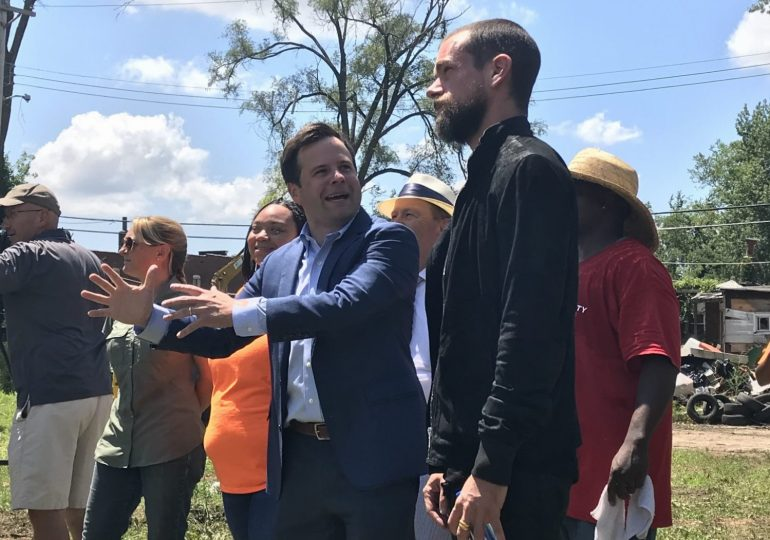 Twitter's Dorsey joins Detroit billionaire to fund building demolition in north St. Louis