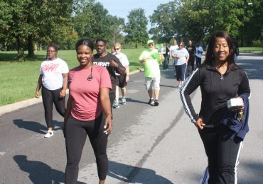 Opioid walk boosts awareness along with a natural high