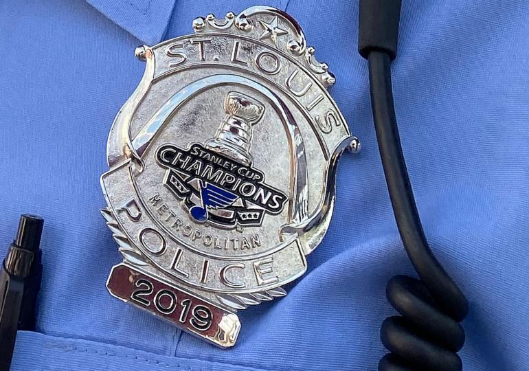 New police badges have a Stanley Cup flair