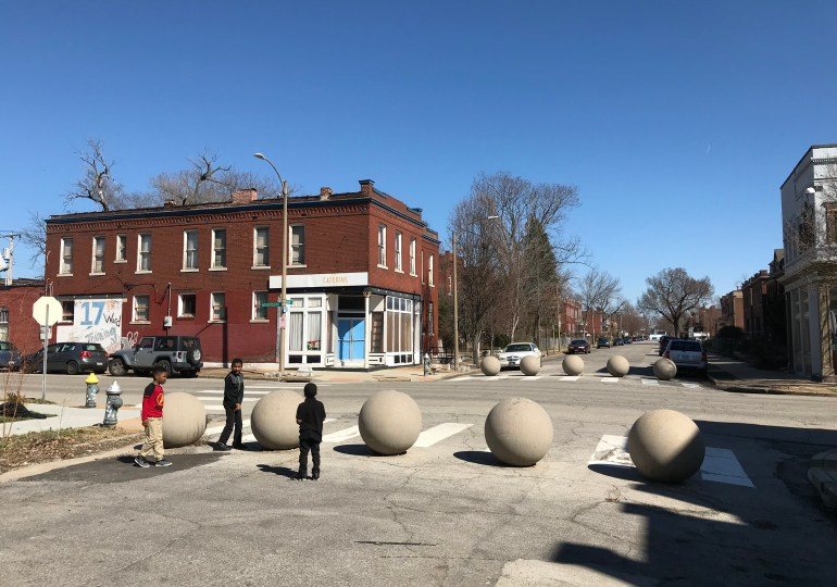 The curious tale of the St. Louis street barriers