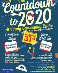 Brown's foundation invites families, teens to safe New Year's Eve at Tandy center