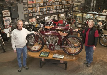 Mungenast museum honors motorcycles, autos, car dealer