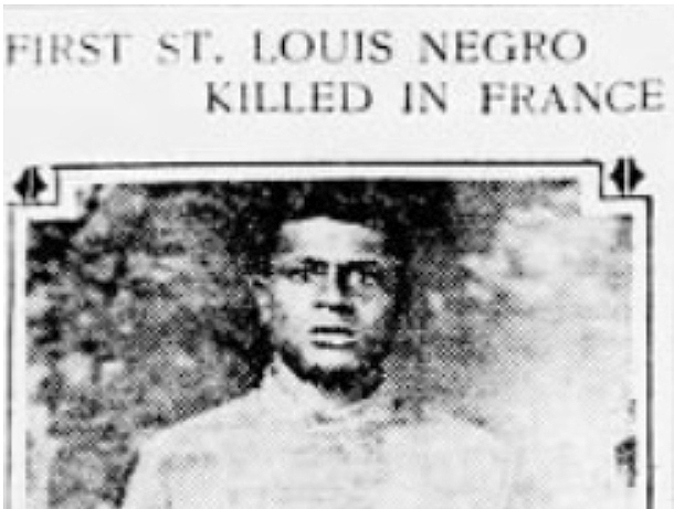 WWI infantryman was St. Louis' own Harlem Hellfighter