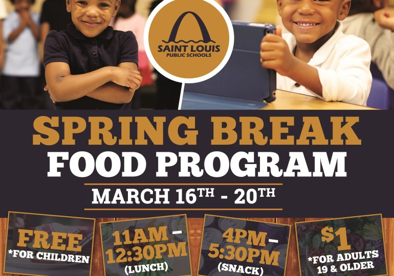Free lunches available during schools' Spring Break