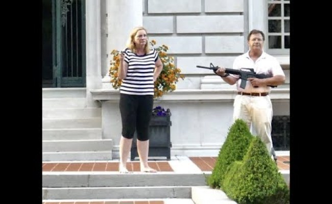White Couple Who Pointed Guns Support Black Causes They