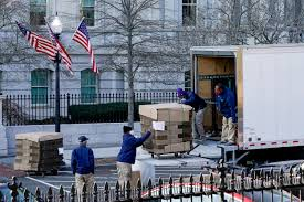 Inauguration Day is also White House moving day