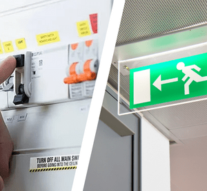 maintenance rcd and emergency lights