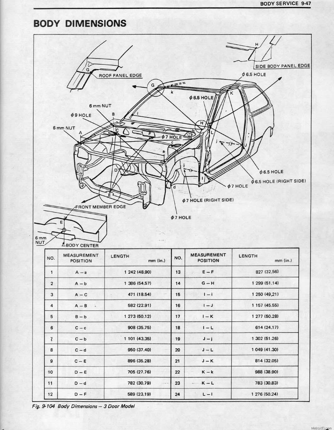 97 Suzuki Sidekick Wiring Diagram