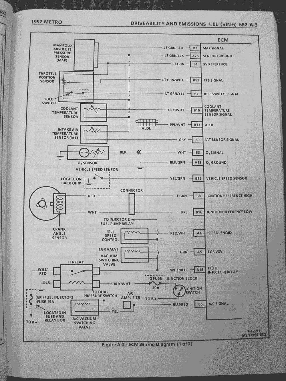 medium resolution of 94 geo metro wiring diagram wiring diagram name 1989 geo metro wiring diagram