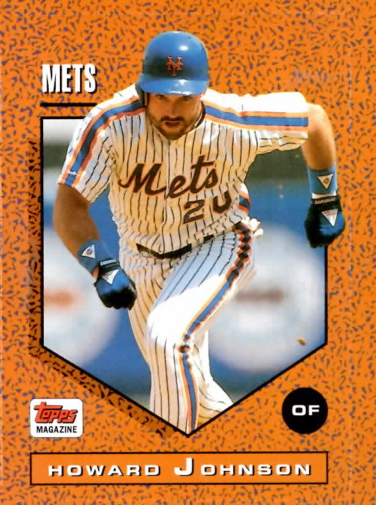Mets Card Of The Week 1992 Howard Johnson