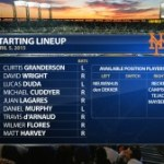 Terry Collins has a lineup dilemma