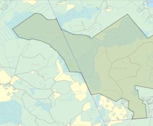 Metsästysalue kartalla