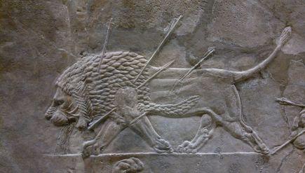Assyrialainen leijonajahti