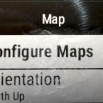 .. sieltä sitten Configure Maps