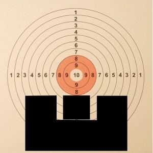 Kilpa-ampujan tähtäinkuva