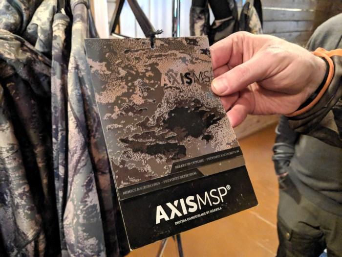 AxisMSP camokuvio koostuu kahdesta kerroksesta