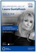 Malmin kirjailijavieraat: Laura Gustafsson