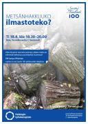 Metsänhakkuuko ilmastoteko -luento