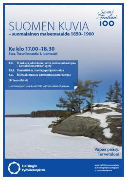 Suomen kuvia - suomalainen maisemataide 1850-1900