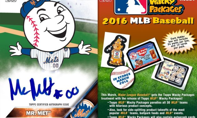 MLB Wacky Packages to Debut on March 9