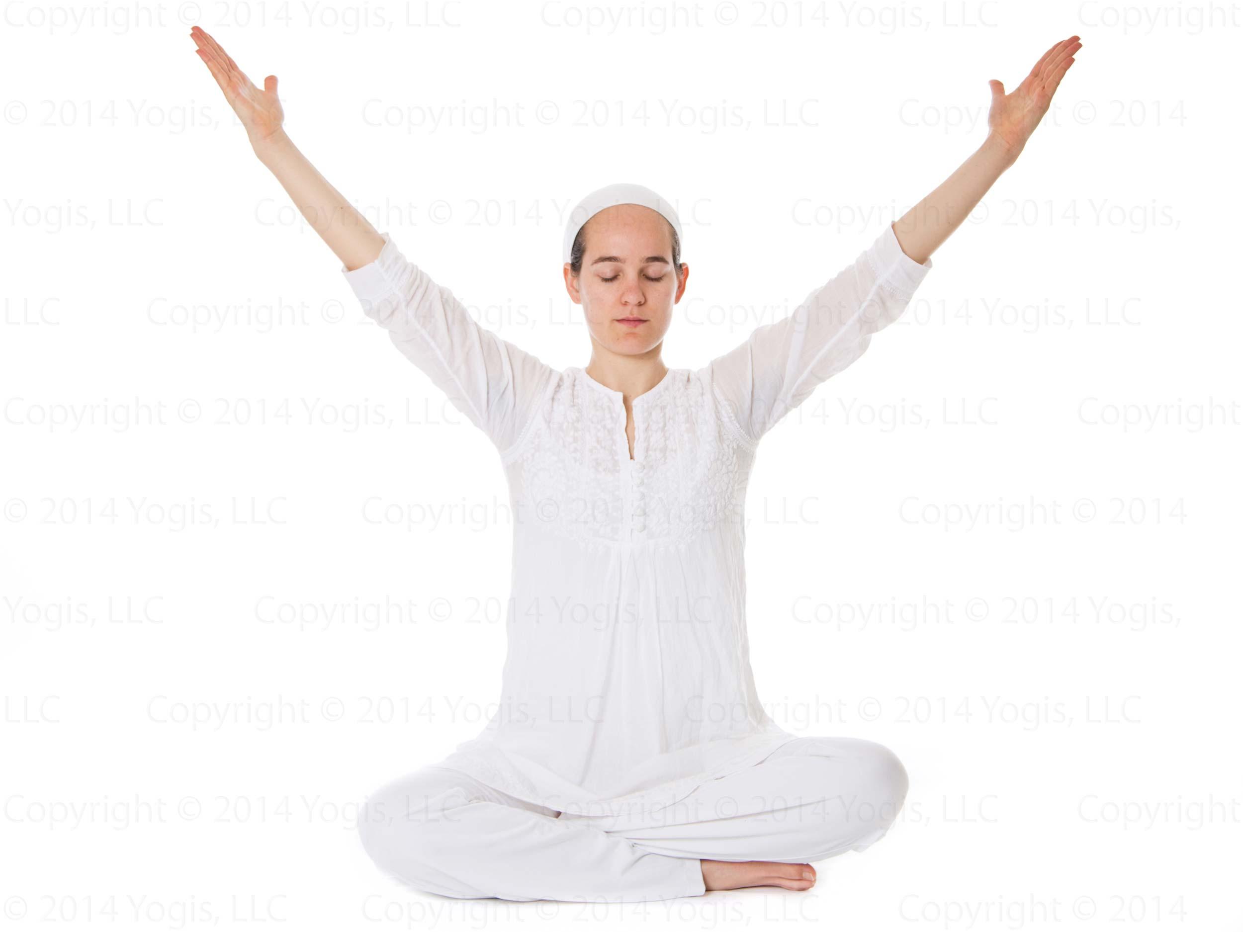 Extended Arm Wave 1 Metta Yoga Kundalini Yoga
