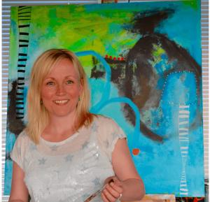 Heidi tog på online malekursus
