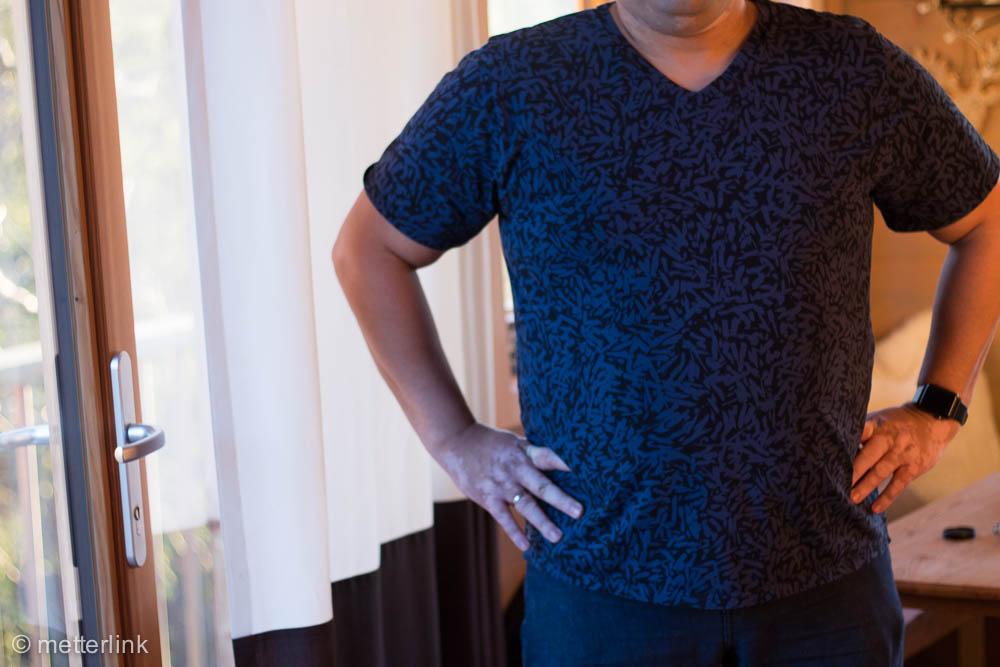 metterlink näht: T-Shirt Sebastian für Männer aus Nosh Organics
