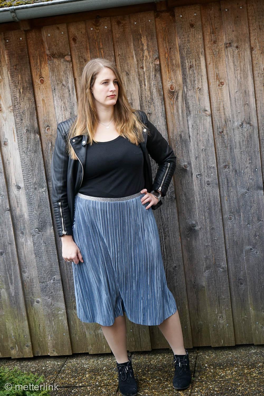 xmetterlink näht: Rock #plissee von Fashiontamtam mit Gummiband