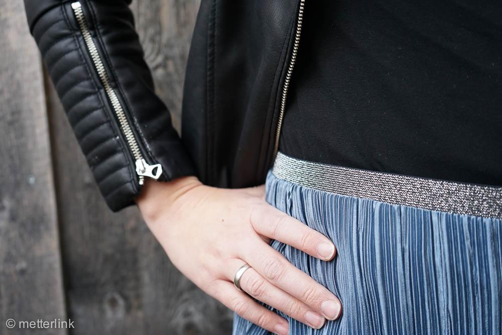 metterlink näht: Rock #plissee von Fashiontamtam mit Gummiband