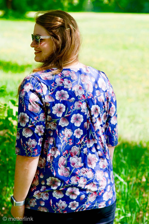 metterlink näht: Bluse Frau Yoko aus Maxi May von Lila Lotta