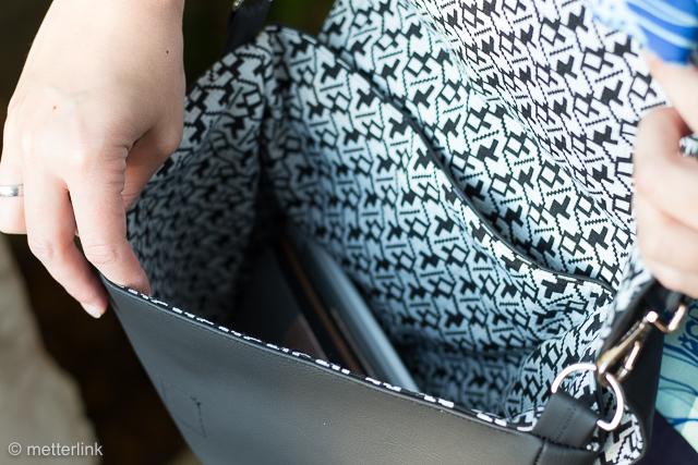 metterlink näht: Uptown Tasche aus dem Buch Weekend Style von Sew Caroline im Stiebner Verlag erschienen