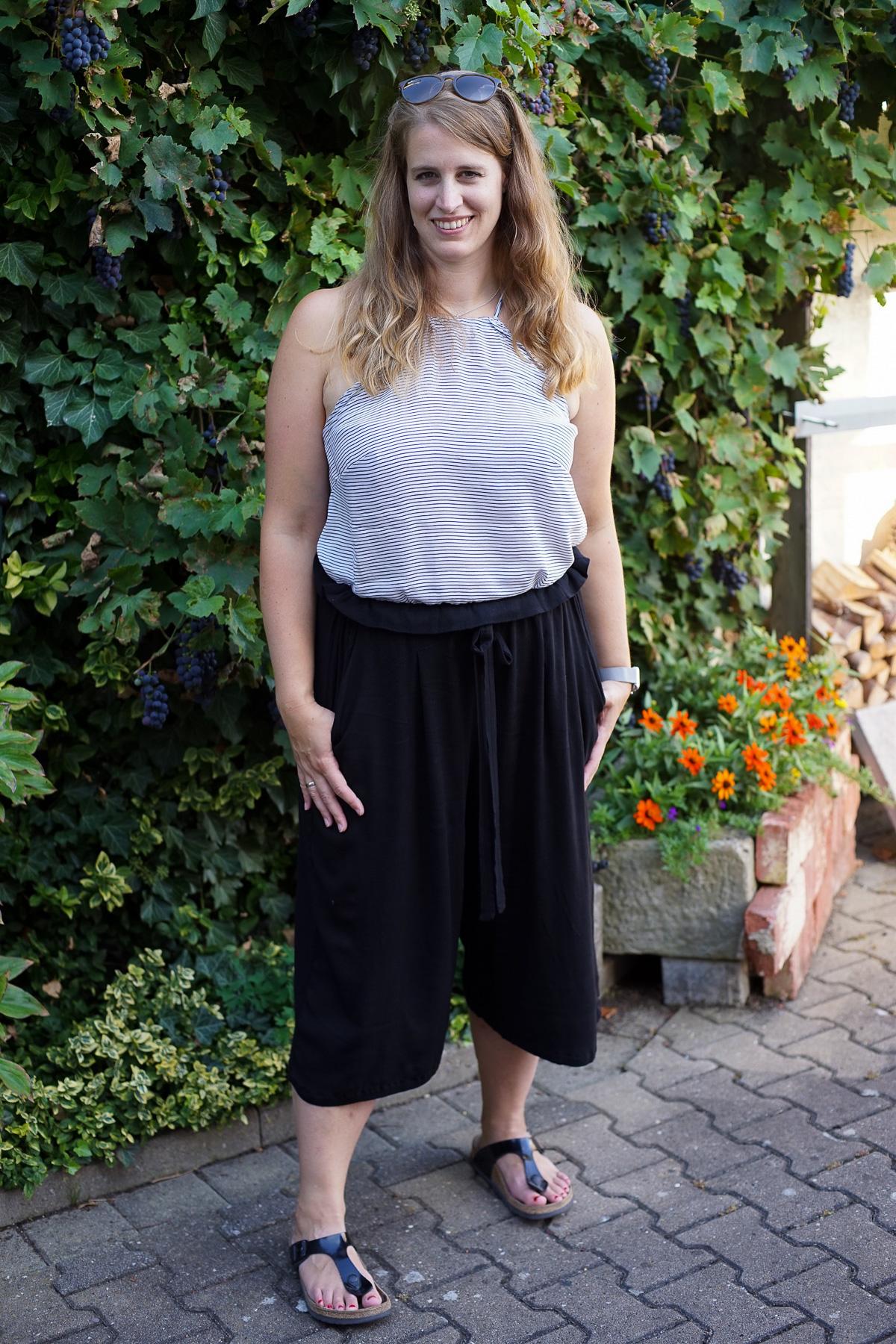 metterlink näht: Top Heidi von The Couture und Paperbag Hose Non von Lilabrombeerwölkchen